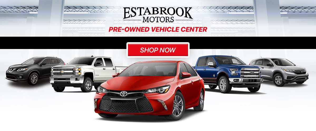 Estabrook Pre-Owned Vehicle Center header