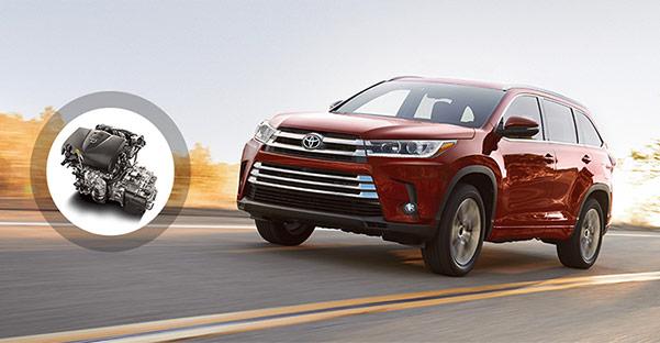 2018 Toyota Highlander Interior & Technology