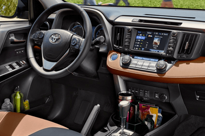 2018 Toyota RAV4 dashboard interior