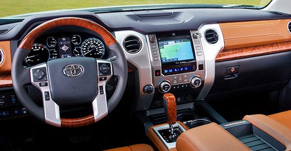 2018 Toyota Tundra Features & Entertainment