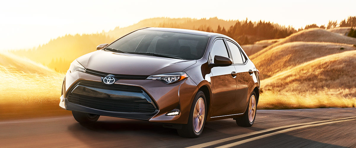 The 2019 Toyota Corolla Header