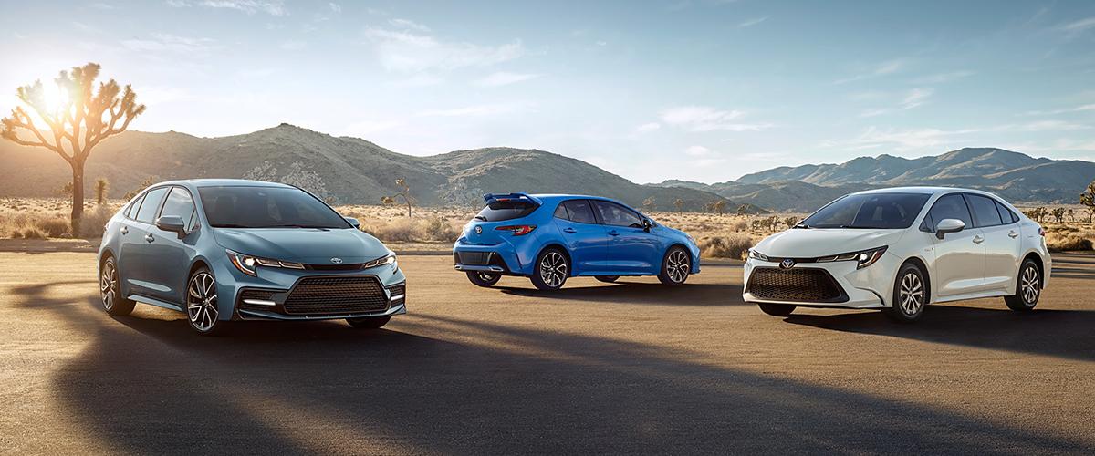 2020 Toyota Corolla lineup