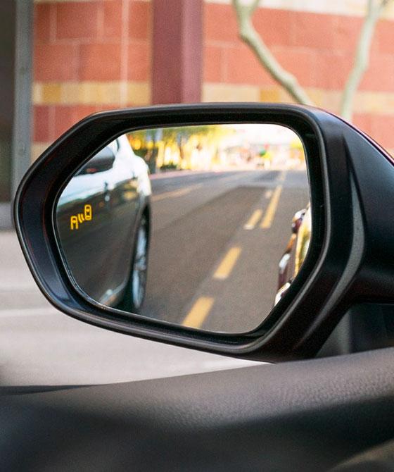 Blind Spot Monitor with Rear Cross-Traffic Alert
