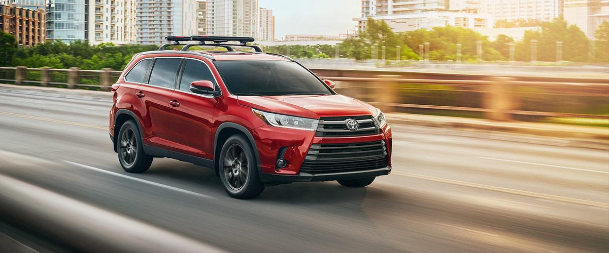 2019 Toyota Highlander header