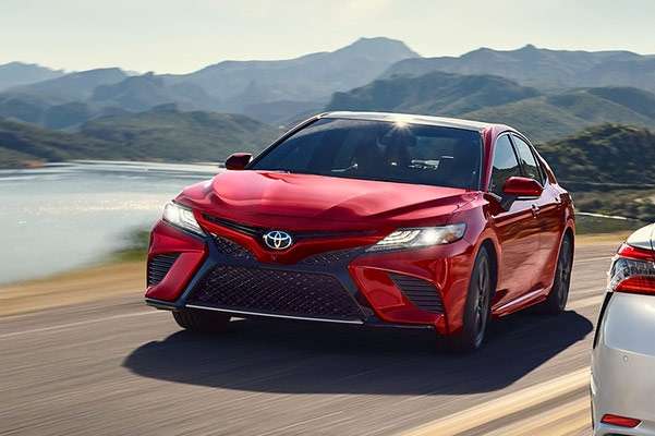 2019 Toyota Camry On Road