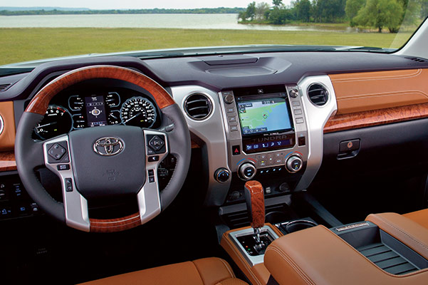 2019 Toyota Tundra Design, Interior Features & Technology