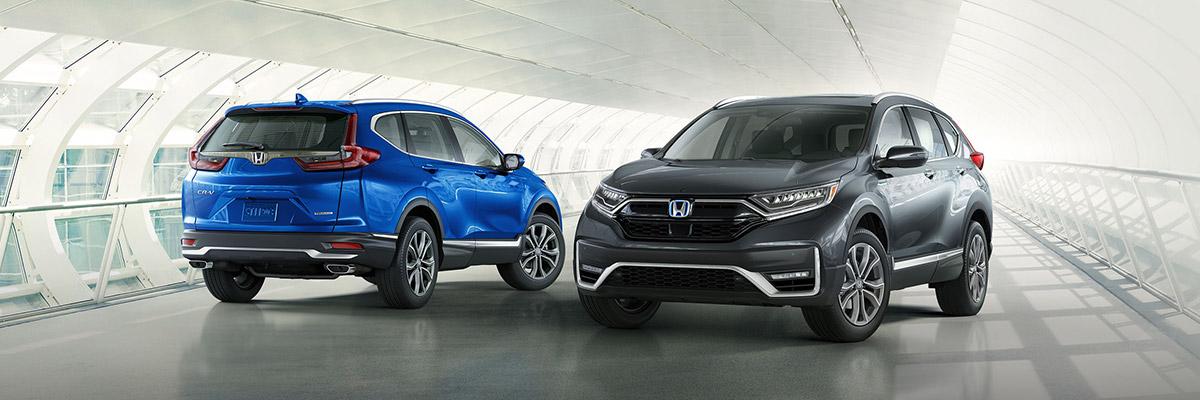 2021 Honda CR-V lineup
