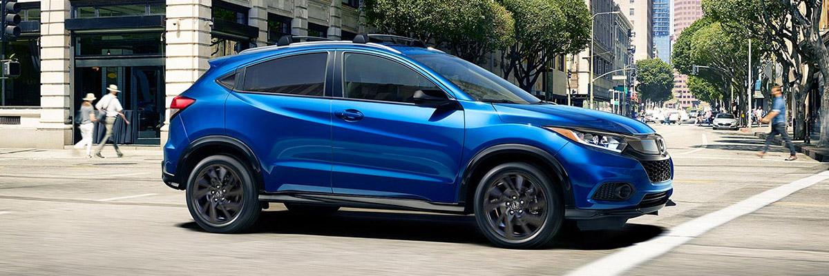 2021 Honda HR-V on street